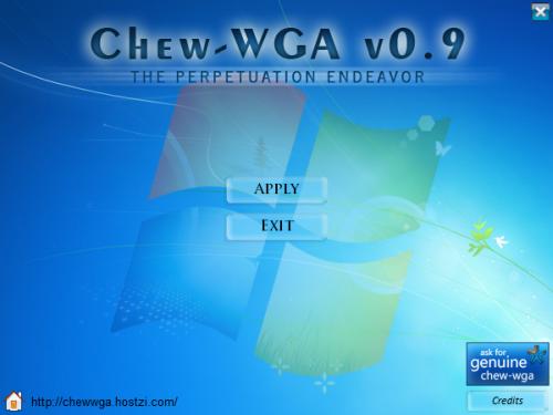 chew WGA applay